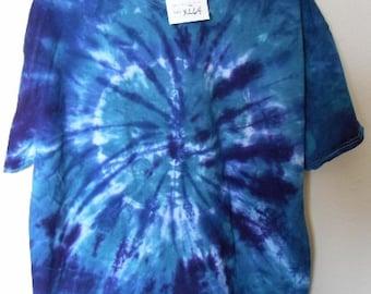 100% cotton Tie Dye T-shirt MMXL64 size XL
