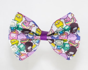 Adventure Time Hair Bow / Bow Tie