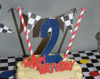 Blaze and the Monster Machines, Cake topper, party supplies, birthday, custom