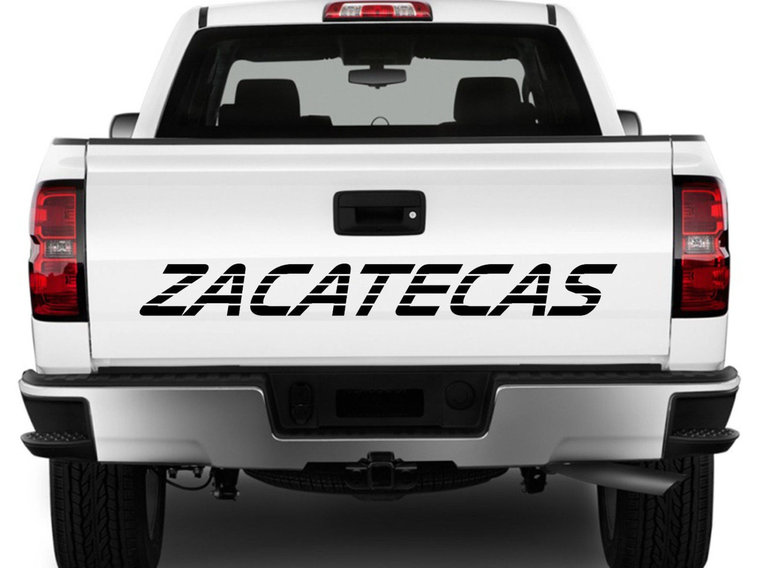 Zacatecas Mexico Truck Decal Sticker Tailgate For Chevy - Chevy silverado stickers