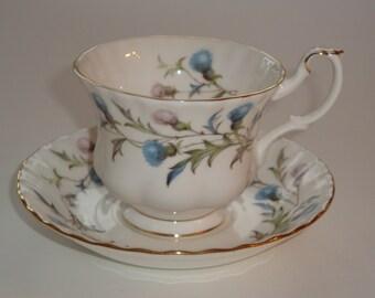 Royal Albert BRIGADOON Cup and Saucer