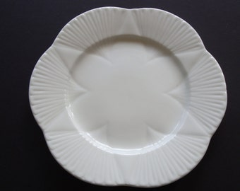 Shelley Dainty White Regency Salad Plate