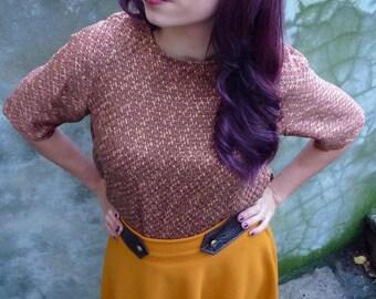Gold Beach raglan blouse