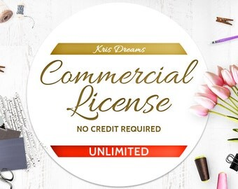 Commercial License No Credit Required-UNLIMITED Products-Present and Future