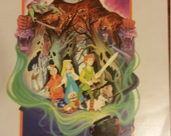 Final Markdown. Rare. The Black Cauldron Comic Book. AS IS.