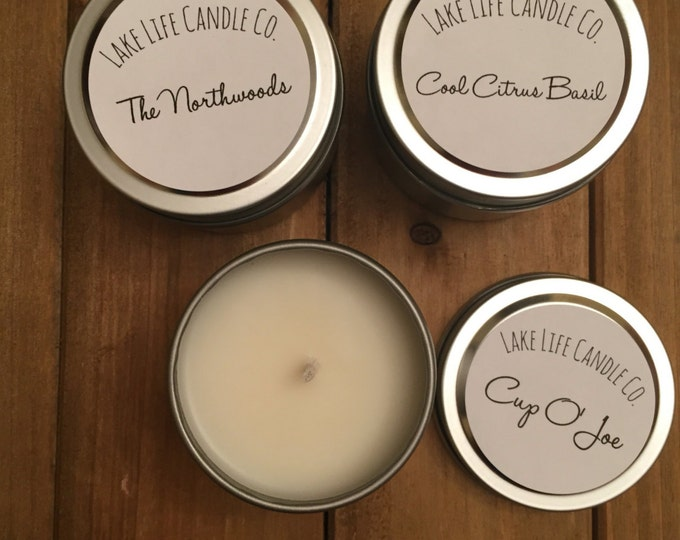 Sample Pack  Handmade Soy Candles: Lake Life Candle Co.