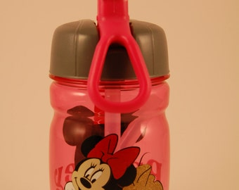 Personalized Toddler Sippy Cup With Minnie Mouse
