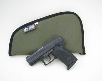 Nylon Pistol Case - Multiple colors and sizes