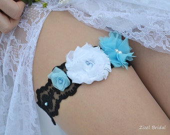 Bridal Garter, Wedding Garter, Lace Garter Set, Blue Garter, Wedding Garter Blue, BlueGarter Set, Lace Garter, Blue Lace Garter, Grey Garter