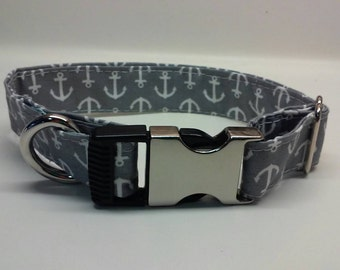 Grey Anchor collar