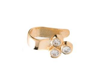 Ear cuff - Minimalist ear cuff - Dainty ear cuff - Gold ear cuff - Silver ear cuff - Minimalist jewelry - Dainty jewelry - Ear wrap