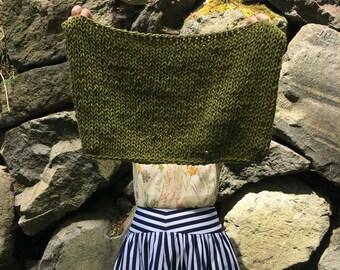 Knit cowl pattern | Granite Countertop Cowl