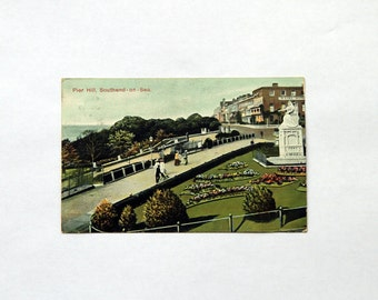 Postcard - Pier Hill, Southend-on-Sea