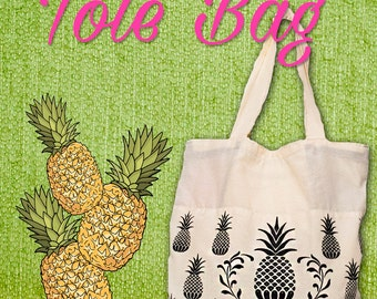 Queen of the Tropic Tote Bag