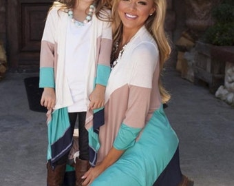 Mommy and me cardigan