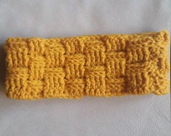 Basket Weave Winter Headband
