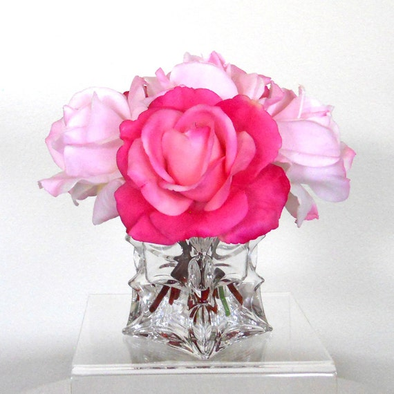 Mother 39 S Day Gift Silk Flowers Flowers Centerpiece Faux