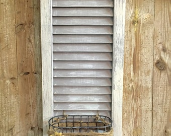Shutter Decor with MAil