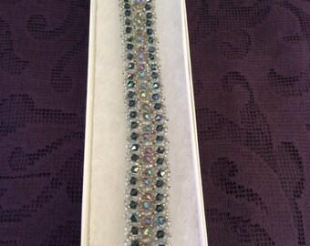 Swavorski Crystal beaded bracelet
