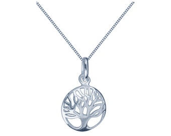 Sterling Silver Pendant Tree Of Life