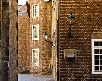 Brick Houses - Brick Houses Photo - Houses - Urban - Town - Town Photo - Digital Photo - Digital Download - Instant Download - Wall Decor