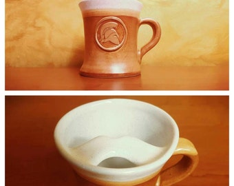 Mustache Mug - The Golden Spartan