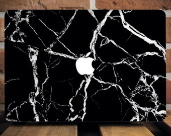 Black Marble Marble Macbook Air Case Marble Macbook Pro Case Marble Macbook Pro Cover Marble Macbook Air Cover Natural Stone Pattern