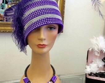 1920 Style Beaded Hat