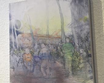 San Miguel, El Salvador ORIGINAL Painting