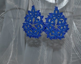 lace earrings zifirki
