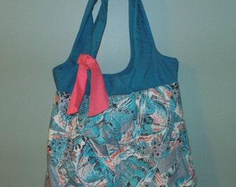 "Hand Made Shoulder Bag, Panafore Bag, 18"" x 25"", HD POCKET Great Gift Item"