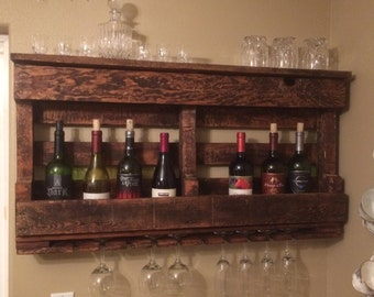 Pallet Wine Rack - Free Shipping