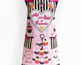 Apron Cupcake By Kitchen-chic