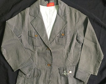 Vintage Vivienne Westwood Red Label Striped Blazer