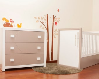 Crib change to NORMAL SINGLE BED / Best product / Best choice / Baby bed change to kids bed.