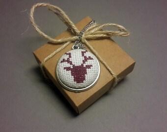 Deer - Brooche / Necklace