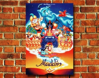 Disney Aladdin Movie Poster - #0683