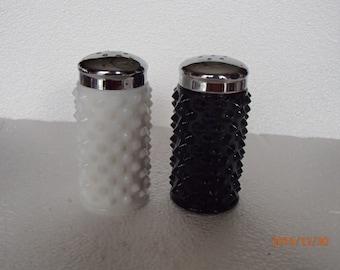 Vintage Fenton Hobnail S&P Shakers