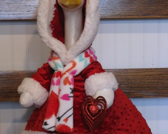 Goose Clothes: Ready for St. Valentine Goose Outfit by Gaudy Goose And More