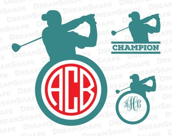 Download Unique golf silhouette related items   Etsy