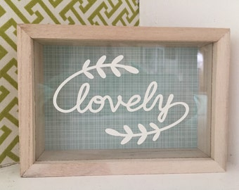 Lovely Shadowbox