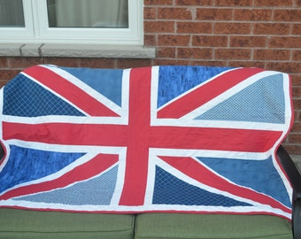 Union Jack Flag Quilt (England)