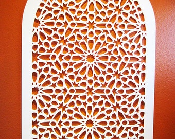 Finestra - Laser cut decorative wall decor