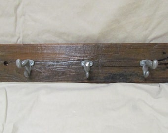 Reclaimed Wood Coat Hanger