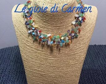 Rainbow of gemstone jewelry