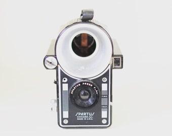 Vintage Spartus Press Flash | Old Camera | Antique | Collectible | Home Decor | Photography | Film