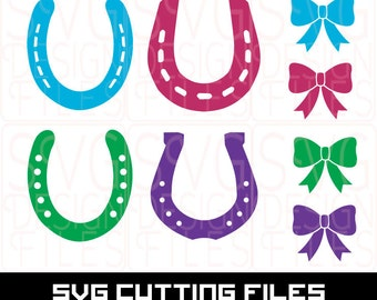 Horse Shoe SVG Monogram Frame file SVG Print & Cut, monogram SVG frame for Silhouette Cameo Cut Files, Svg Cutting Files. svg Files
