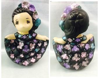 Chiapas Ceramic Doll