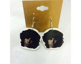 Jim Morrison Earrings