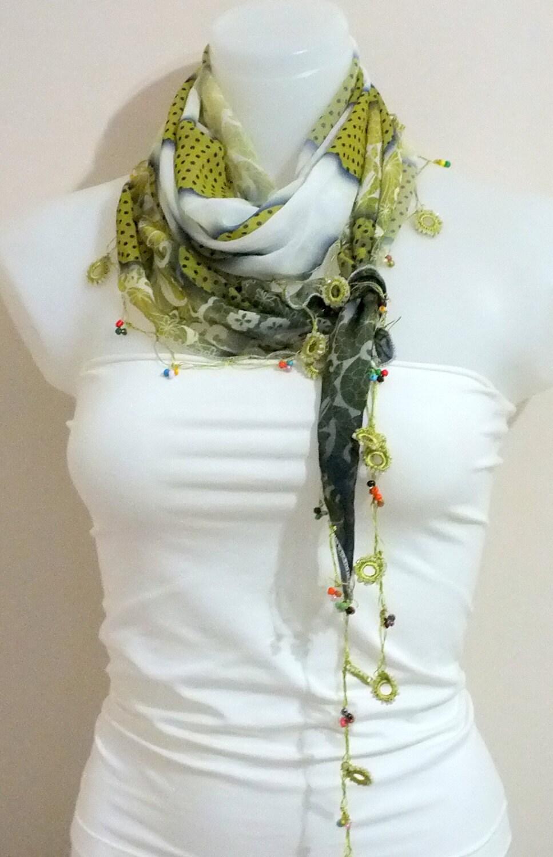 turkish scarf oya scarf chiffon scarf accessories